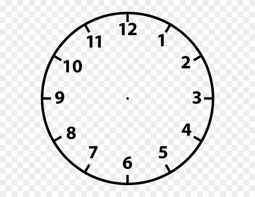Clock face clip art. Clocks clipart plain