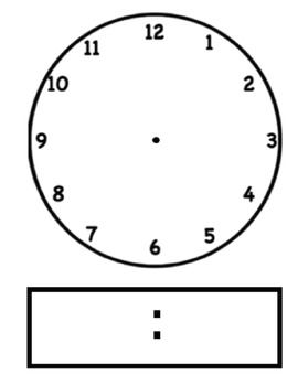Clocks clipart puppet. Blackline clip art clock