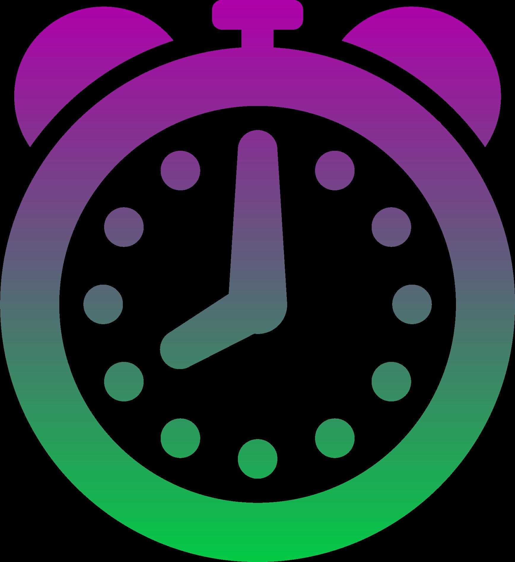 clocks clipart colored