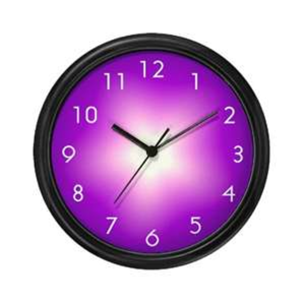 Graphic free images at. Clock clipart purple