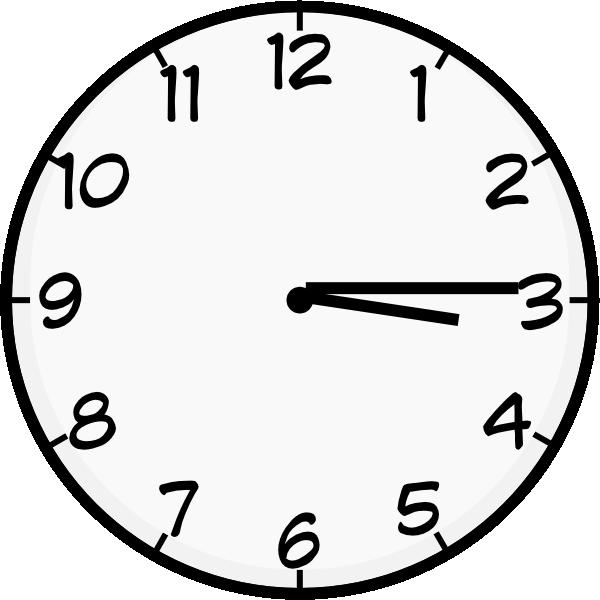 Three clip art at. Clipart clock quarter past