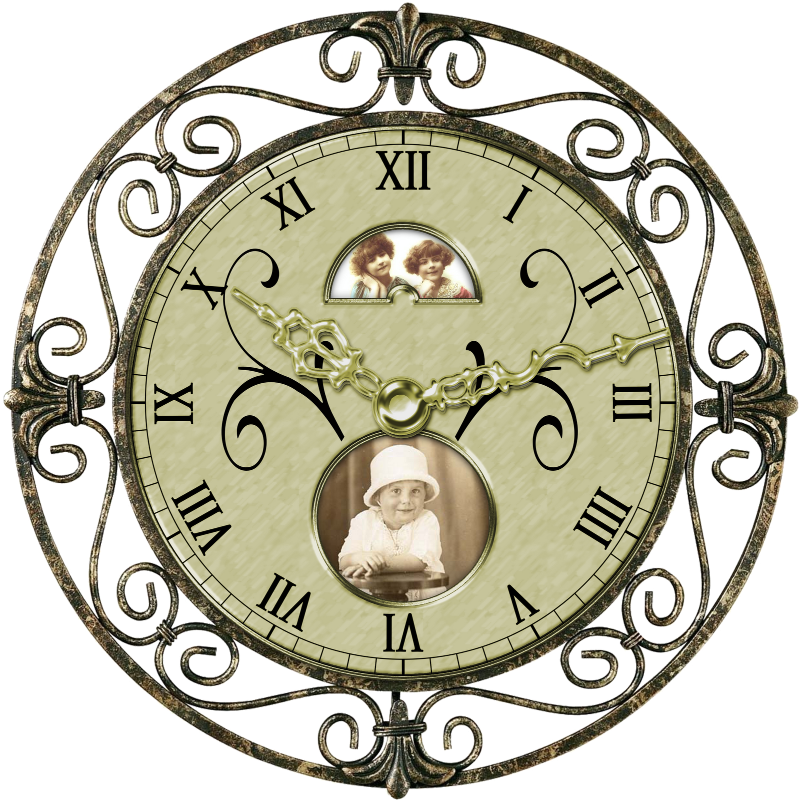 Boutique panda free images. Clock clipart girly