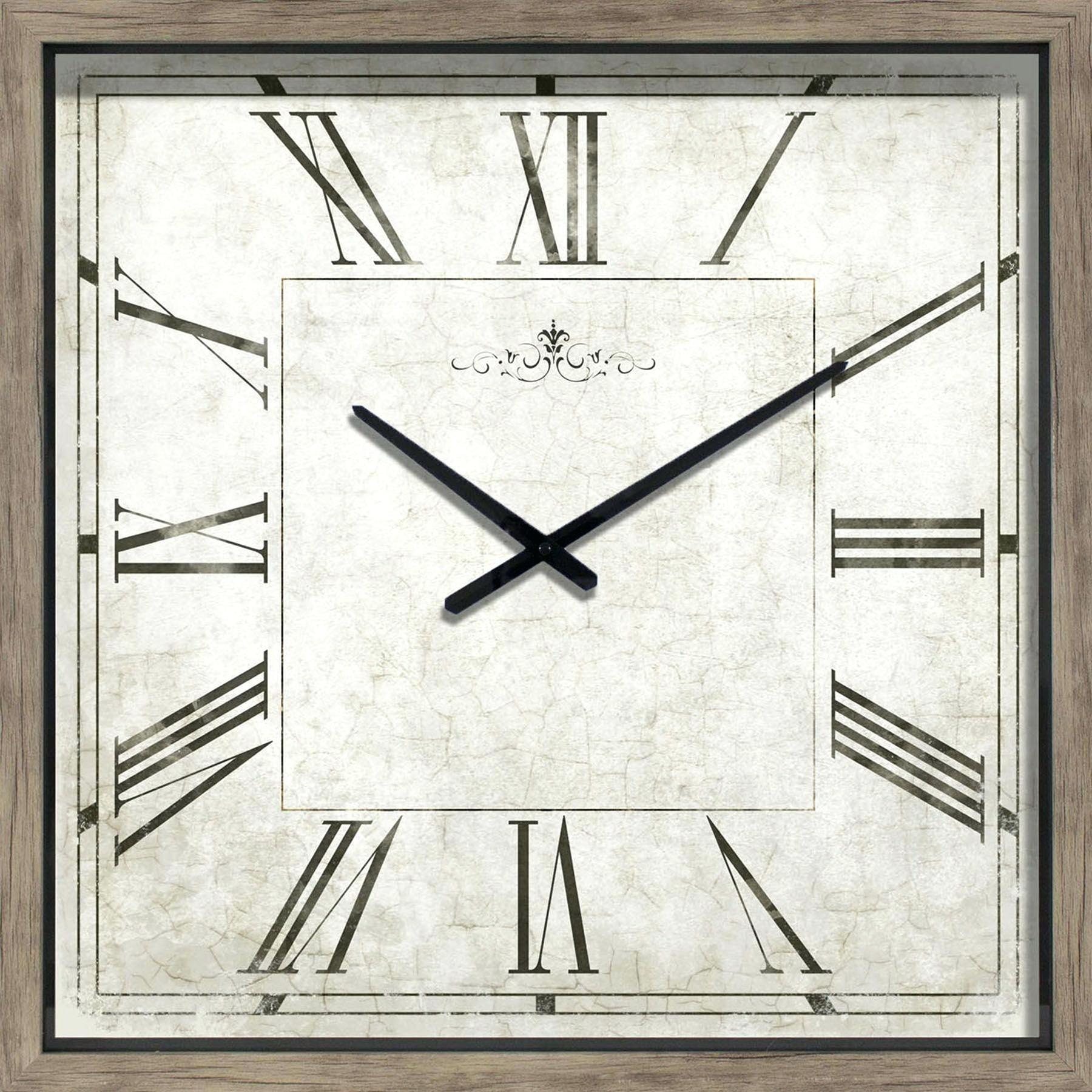 Clipart clock rectangle.