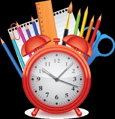 Clock clipart school. Time to pbs learningmedia