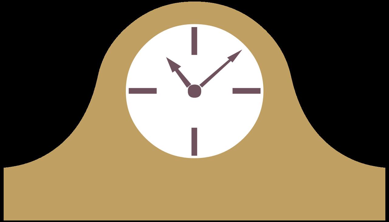 Clocks clipart quarter past. Clock silhouette at getdrawings