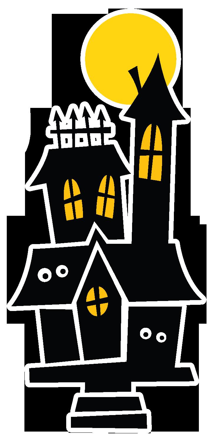 Nkubo hauntedhouse png minus. Garland clipart halloween