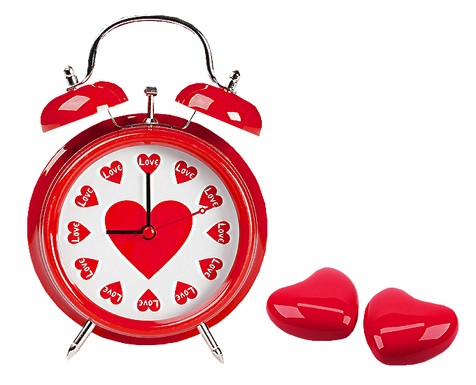 Clocks clipart red. Hearts love clock png