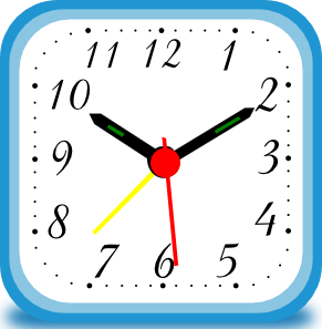 Clipart clock square. Alarm clip art at