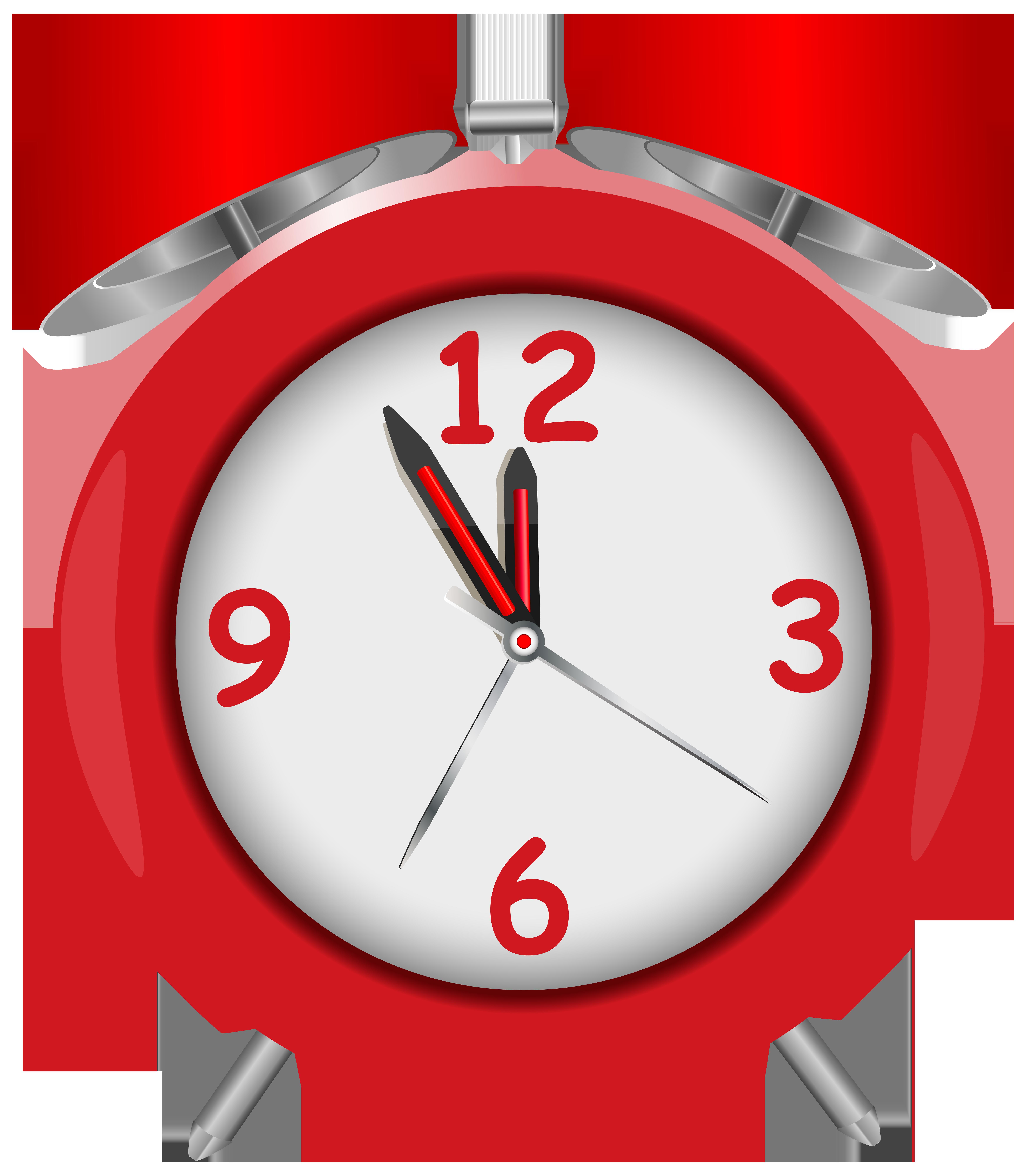 Clocks clipart superhero. Red alarm clock png