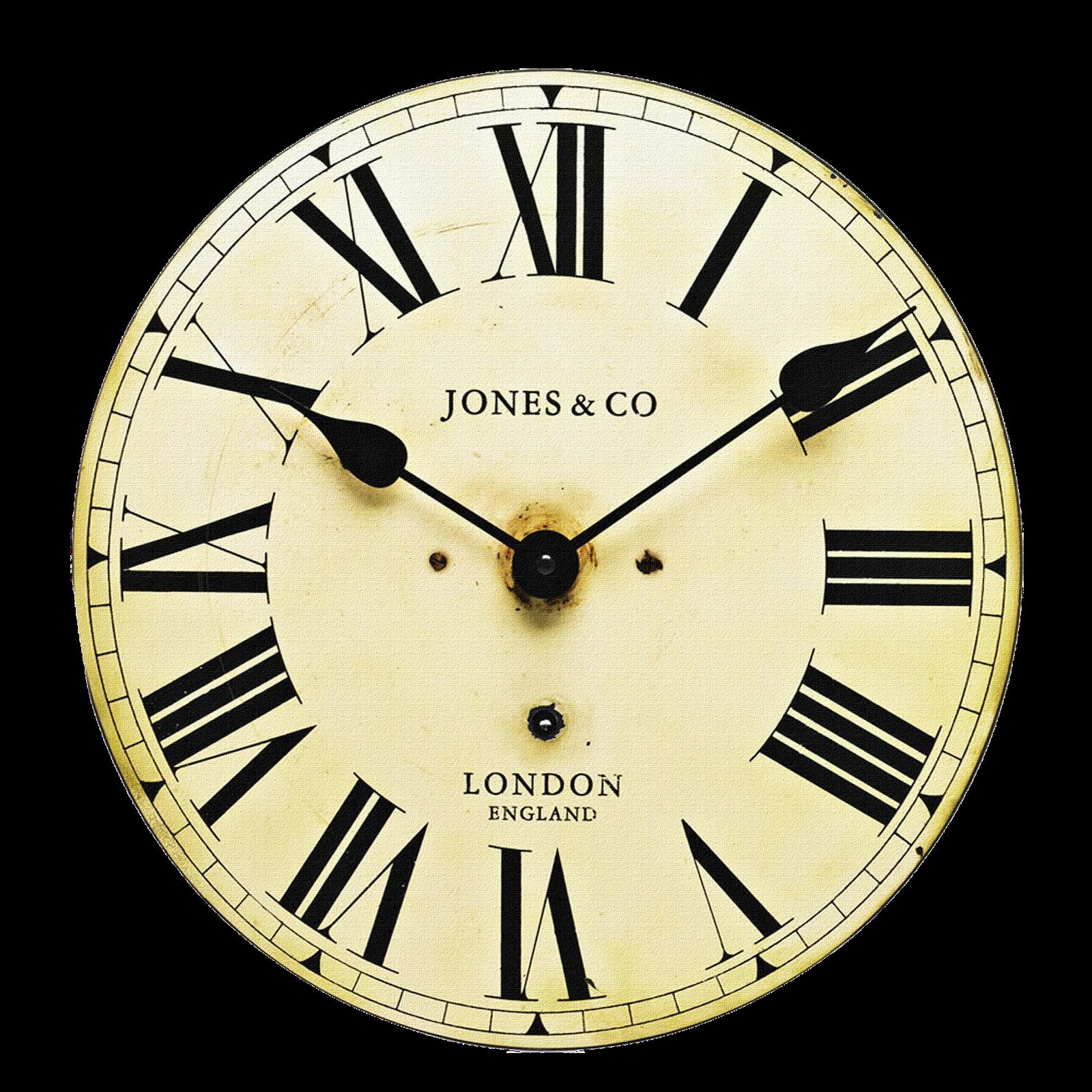 Orologi e ancora clocks. Square clipart brown clock