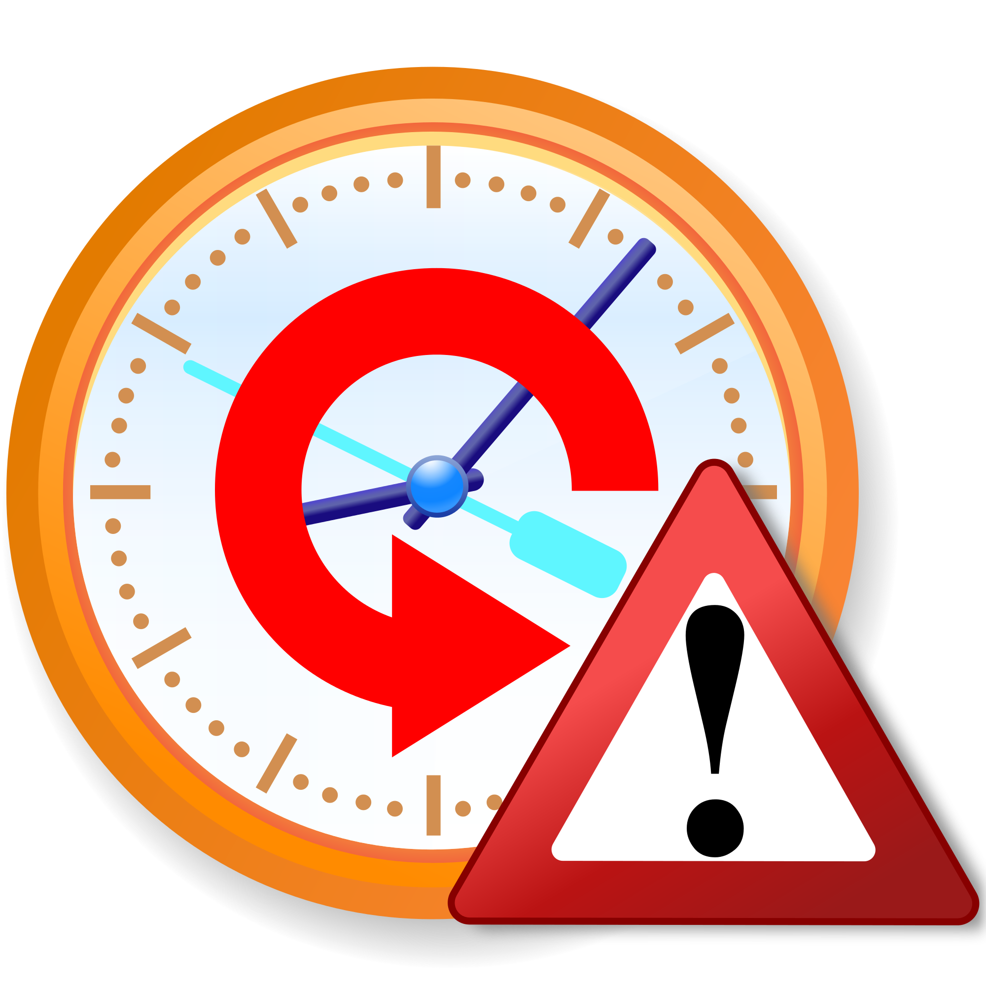 File warning icon svg. Clocks clipart time travel