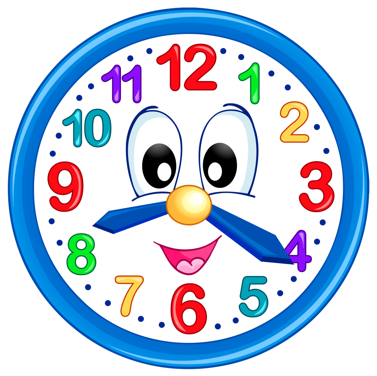 Kind clipart kind kid. Cute clock png clip