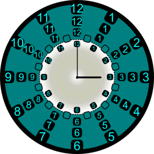 Strange clock clip art. Clocks clipart weird