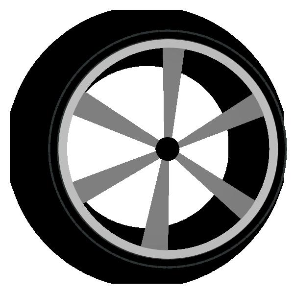Wheel clipart circle thing. Wagon gray clip art