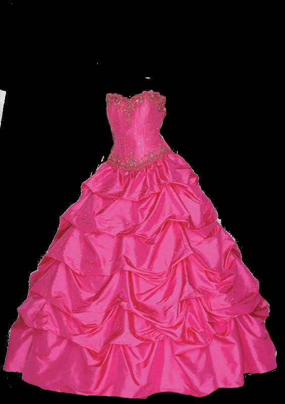 Clothing clipart pink dress. Dresses transparent png images