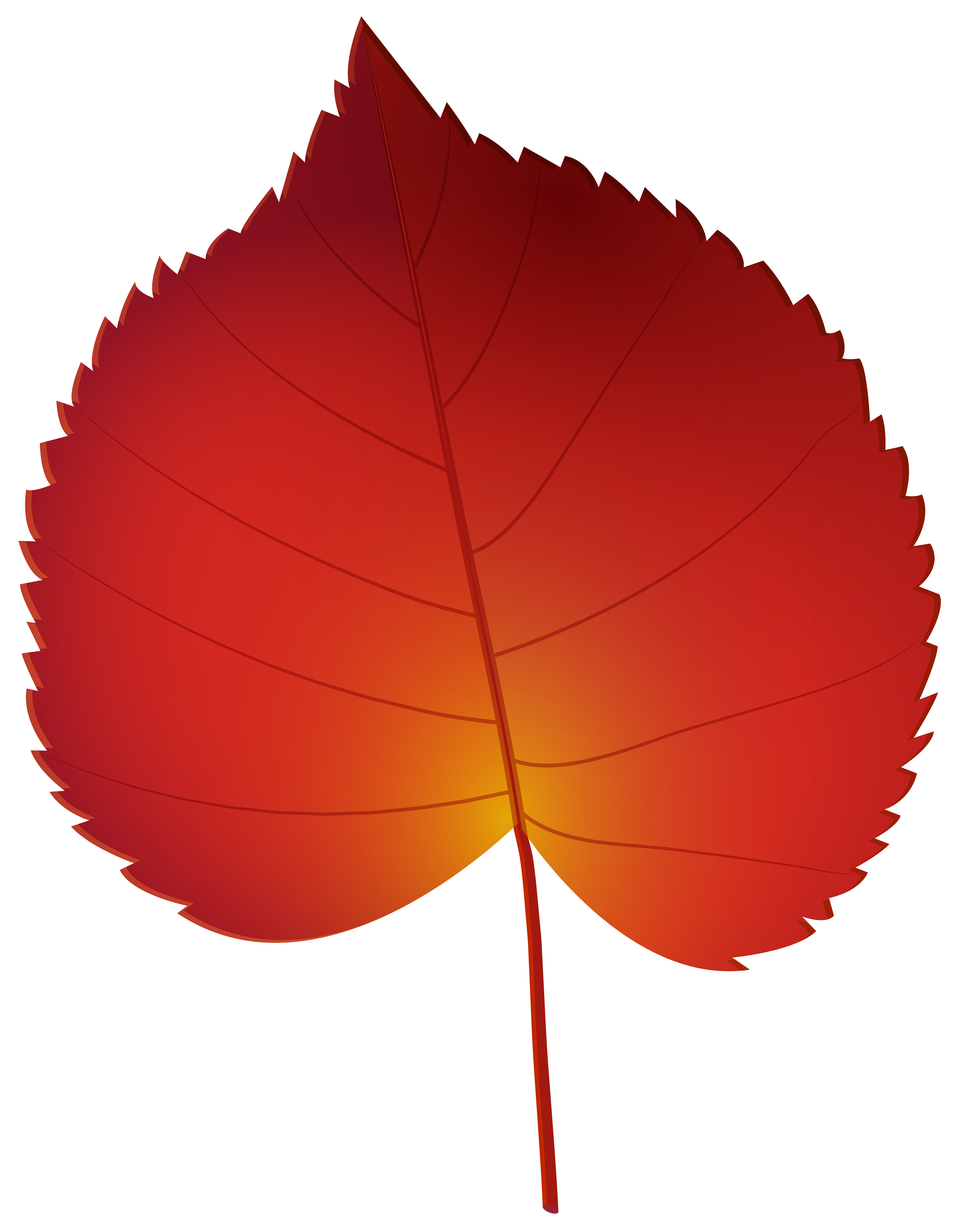 Red autumn leaf png. Leaves clipart leaft