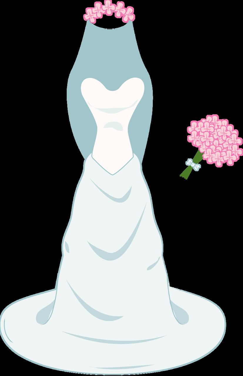 Clothing clipart thin clothes. Wedding dress az ii