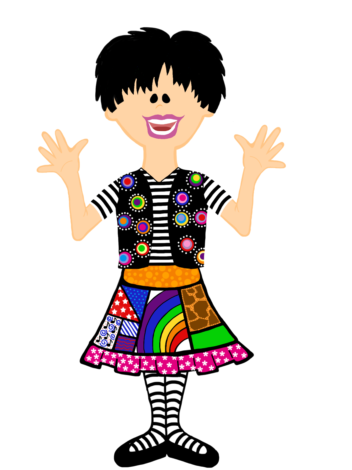 Wednesday clipart tacky day. School friends clip art
