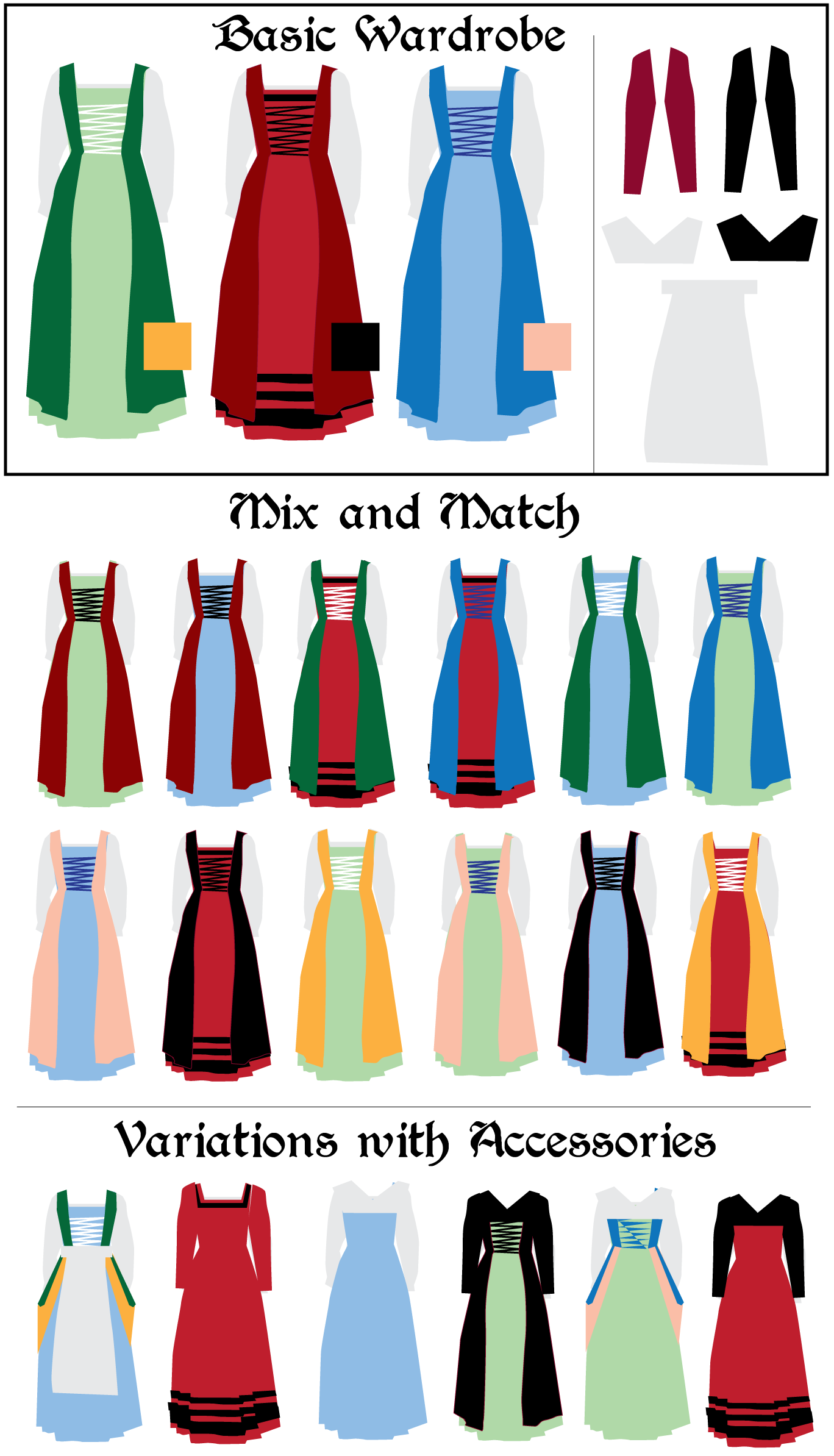 More thoughts on the. Mittens clipart dress