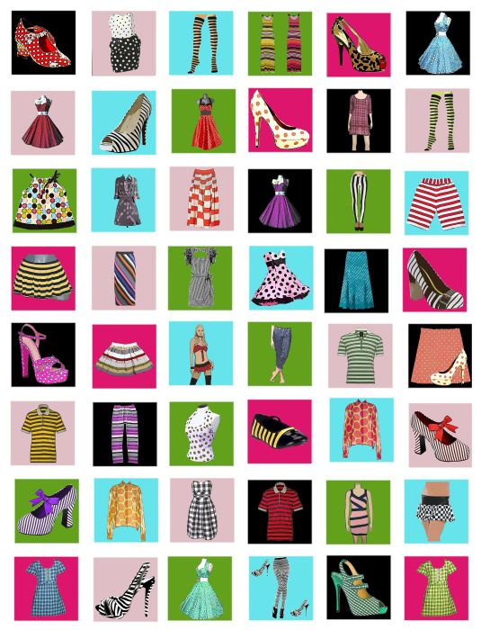 Clothes clipart collage. Free images download clip
