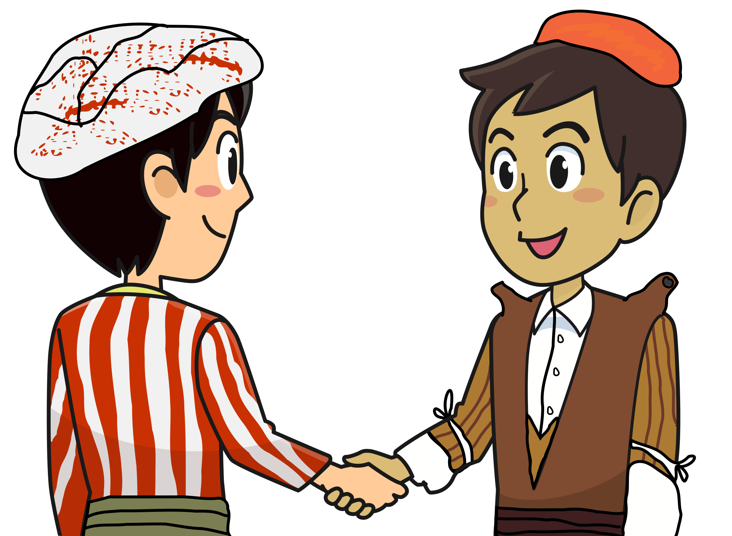Kurdish big image png. Handshake clipart animated