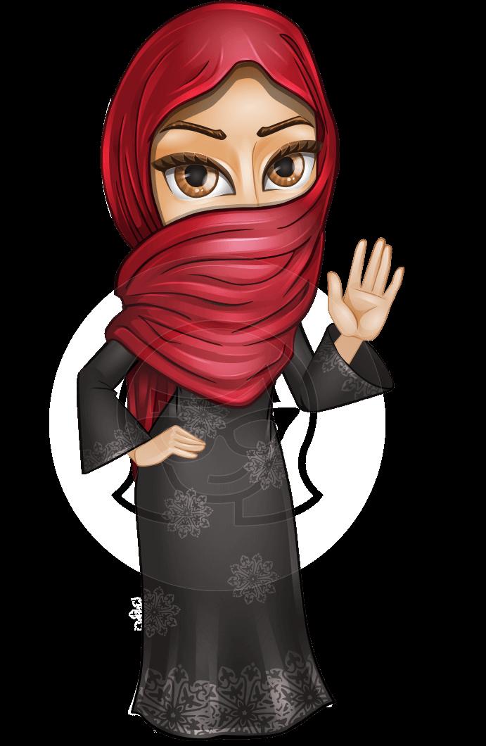 Najla the wide eyes. Eye clipart character