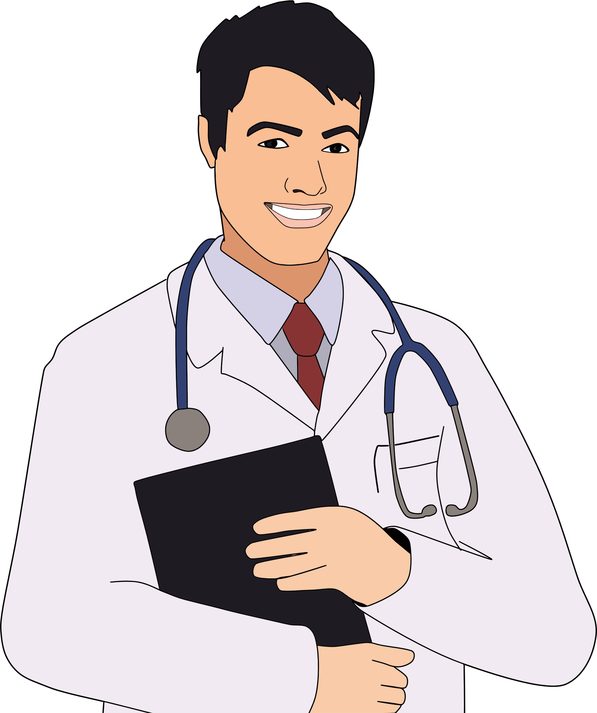 collection of doctor. Young clipart young male
