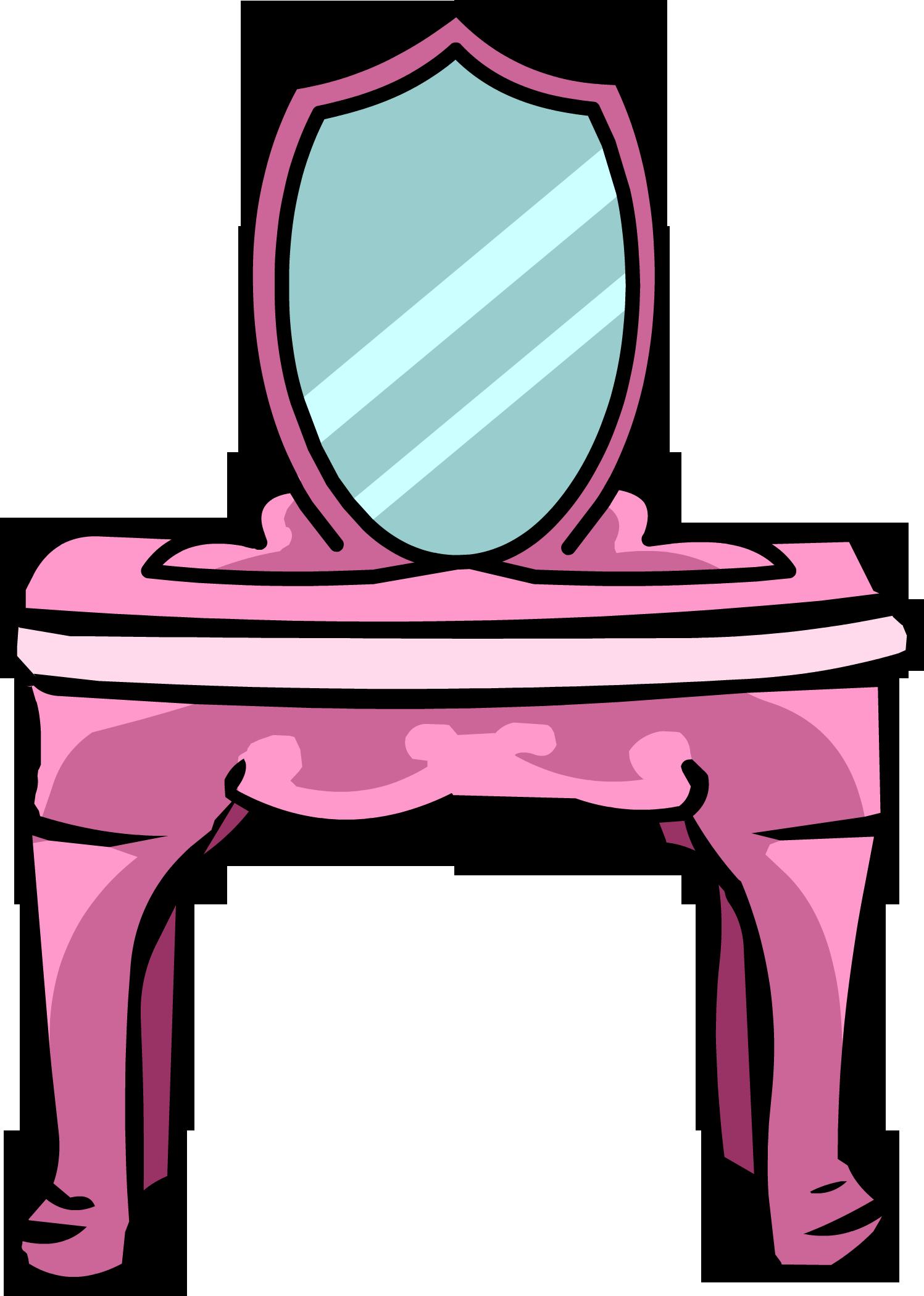Furniture vanity table