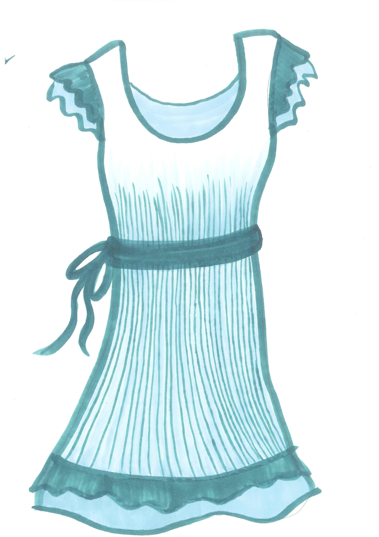 Easter cliparts zone . Dress clipart beach dress