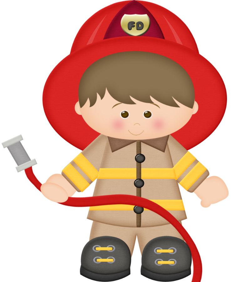 Kid firefighter