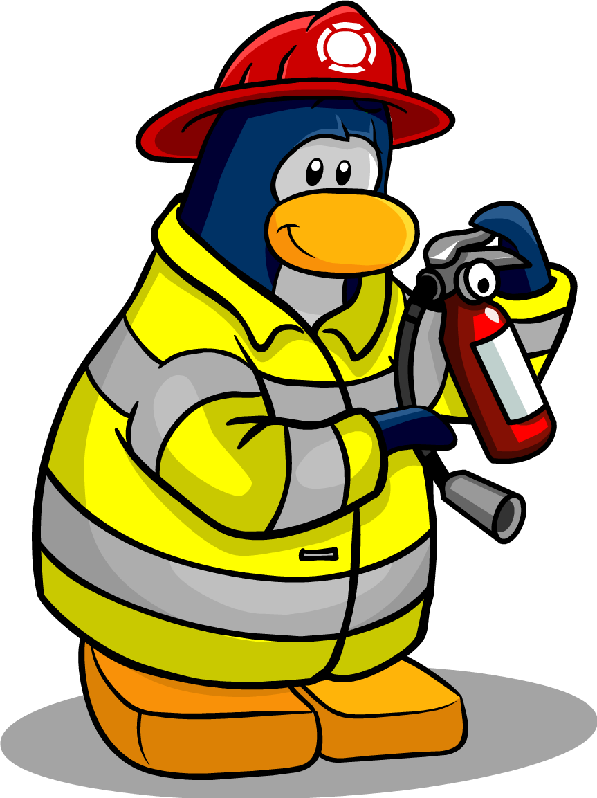 Fireman clipart fireman costume. Firefighter club penguin wiki