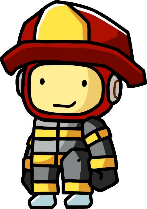 Fireman clipart fireman costume. Uniform scribblenauts wiki fandom