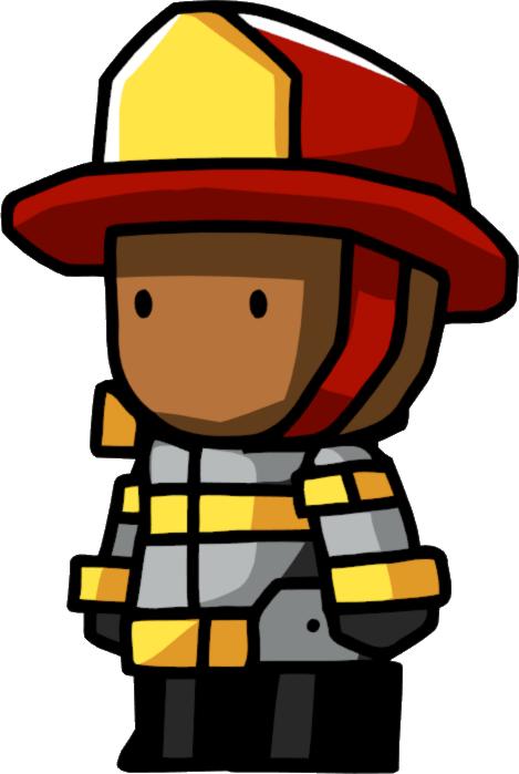 Fireman clipart accessories. Scribblenauts wiki fandom powered