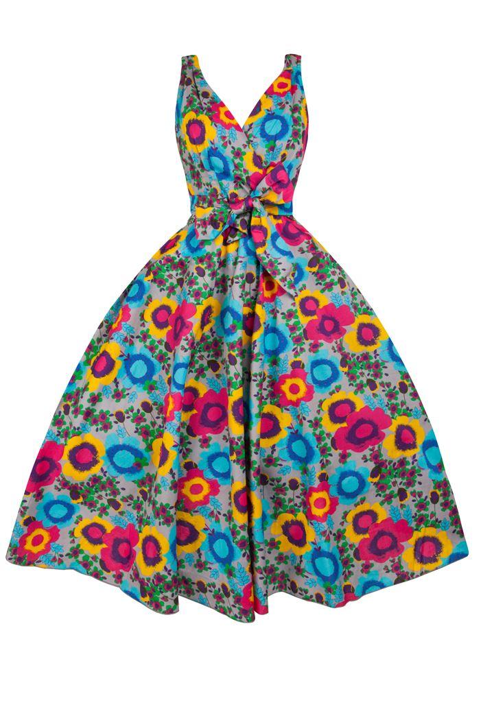 Dress clipart floral dress. Free vintage dresses cliparts