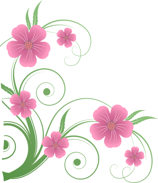 Clipart roses curved. Flowers png decorative element