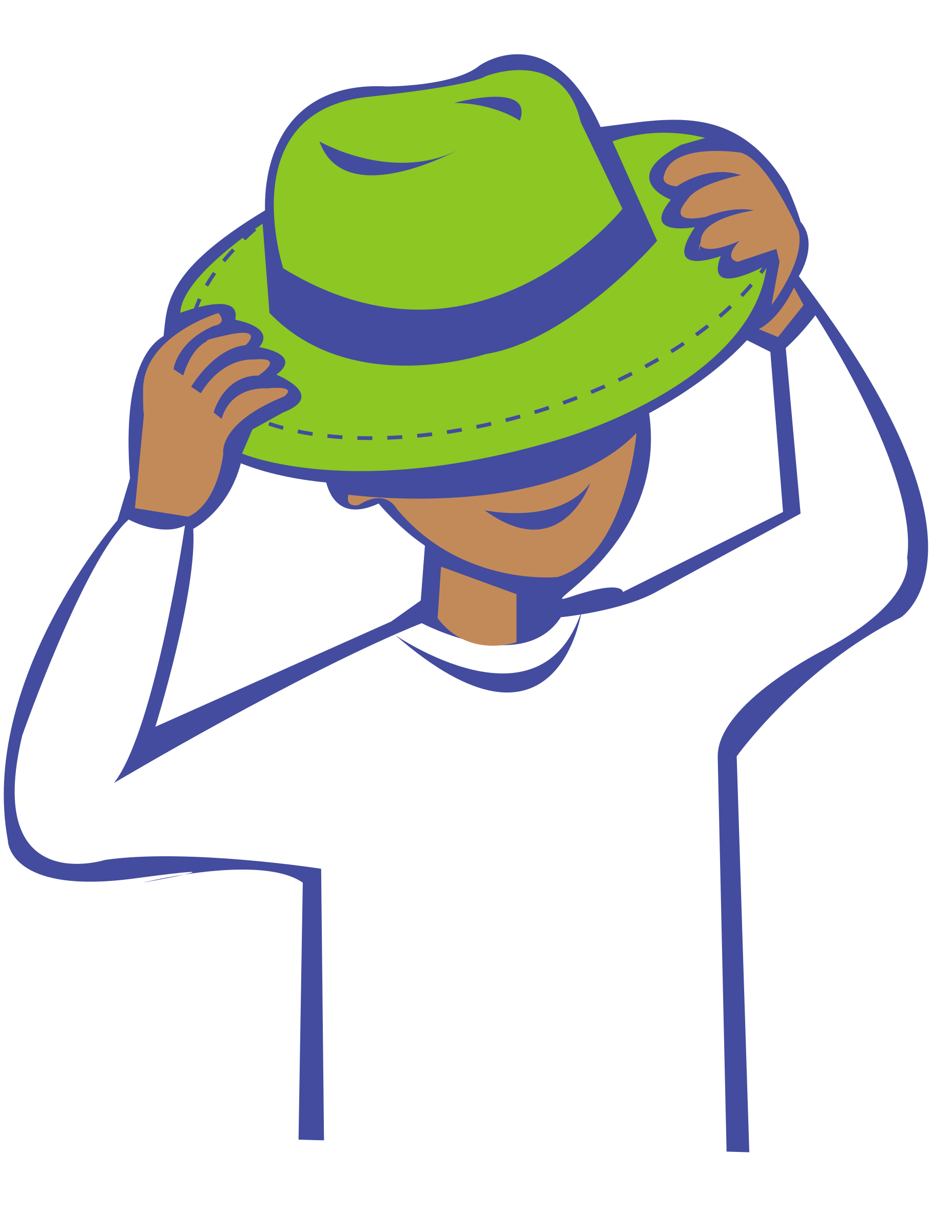 collection of putting. Clothes clipart hat