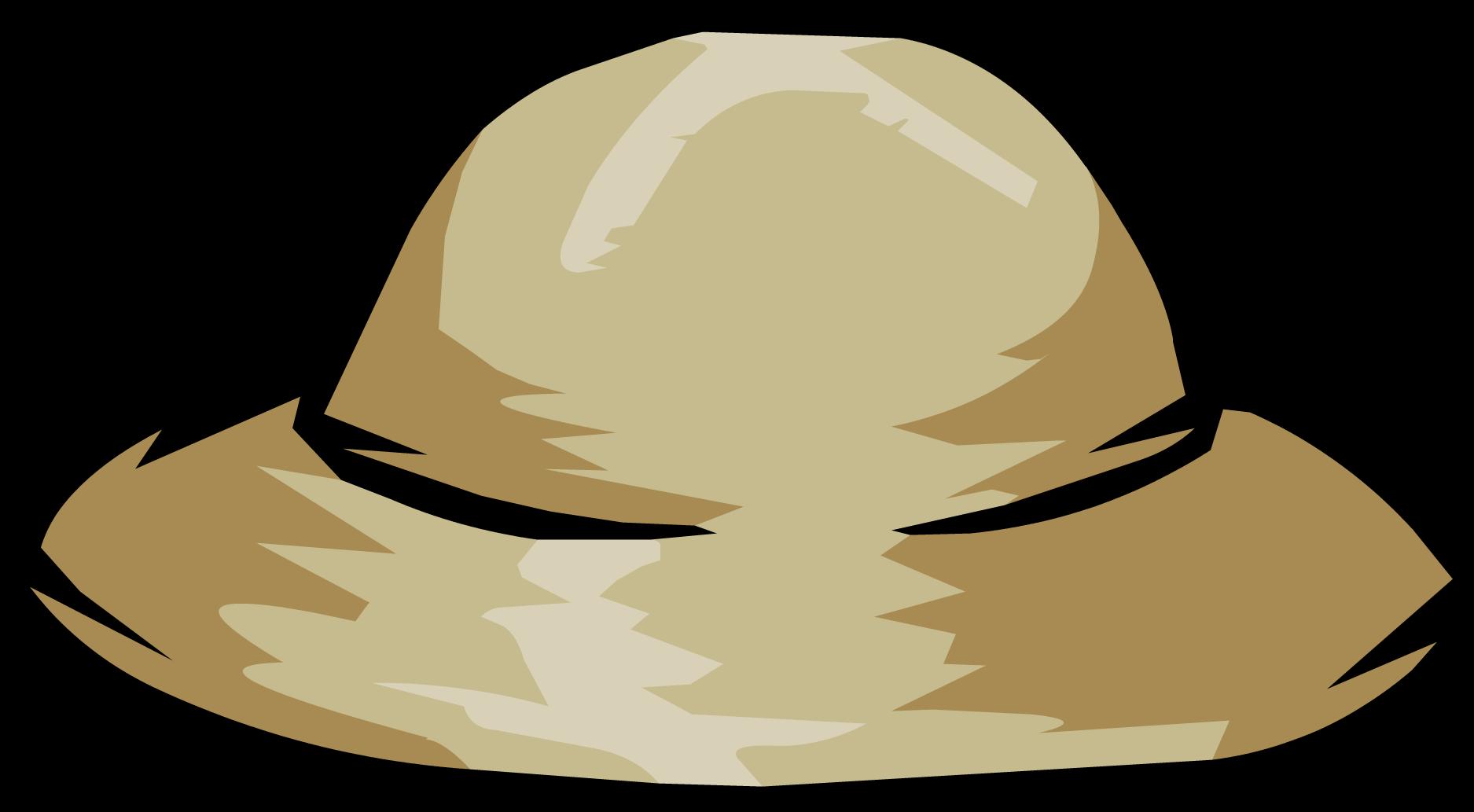 Clipart penguin computer. Image safari hat clothing