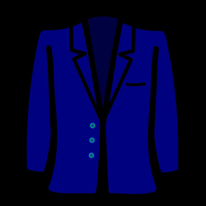 Symbol clothing talksense blazer. Hoodie clipart garment