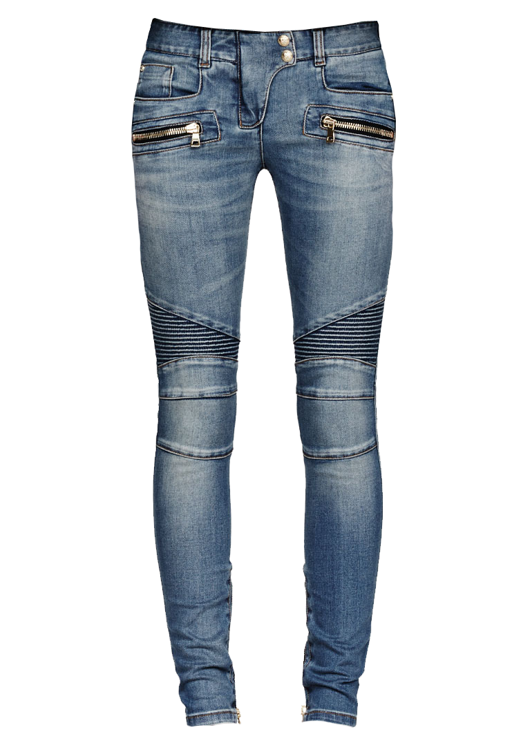 Clipart clothes jeans. One isolated stock photo