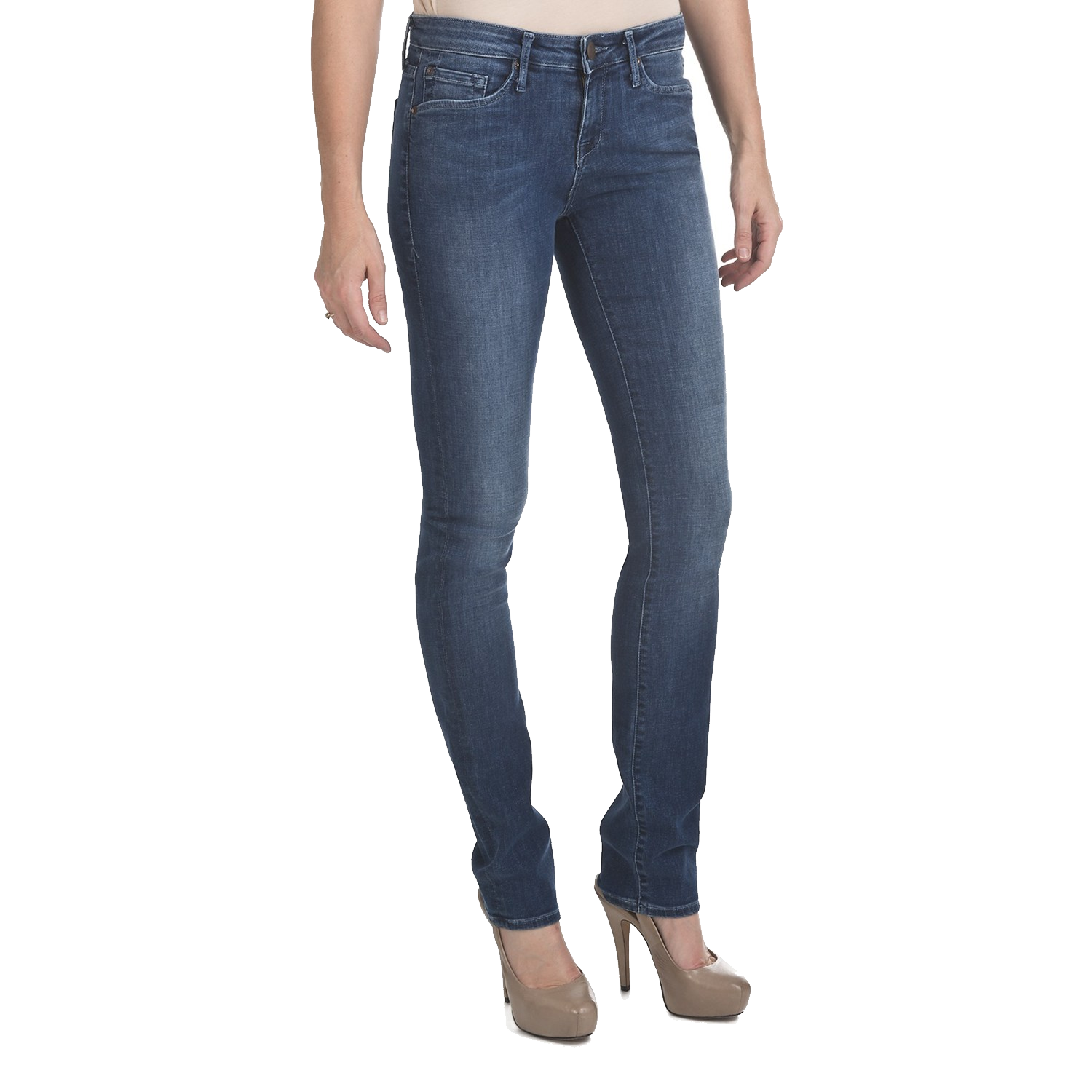 Clipart clothes jeans. Girl with blue isolated