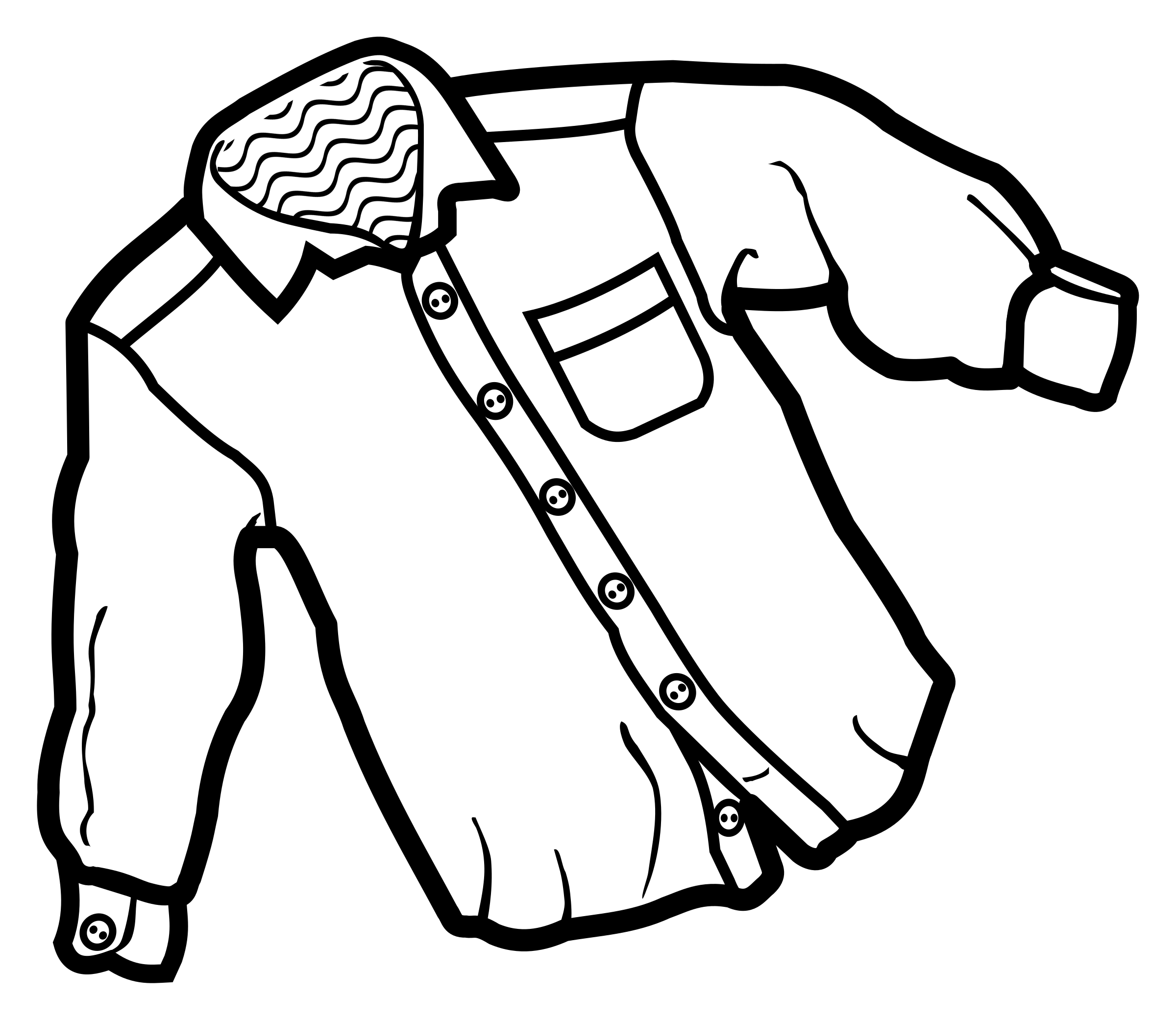 Clipart shirt school shirt. Lineart big image png