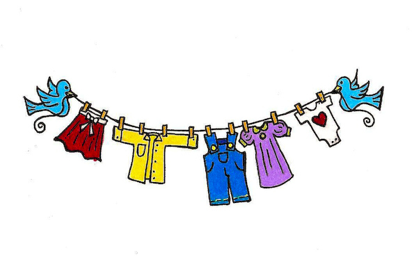 Free clothesline cliparts download. Clothing clipart clothing line