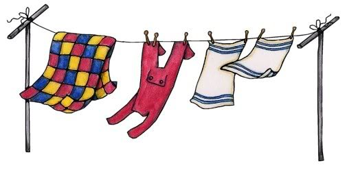 Free clothesline cliparts download. Clothes clipart line
