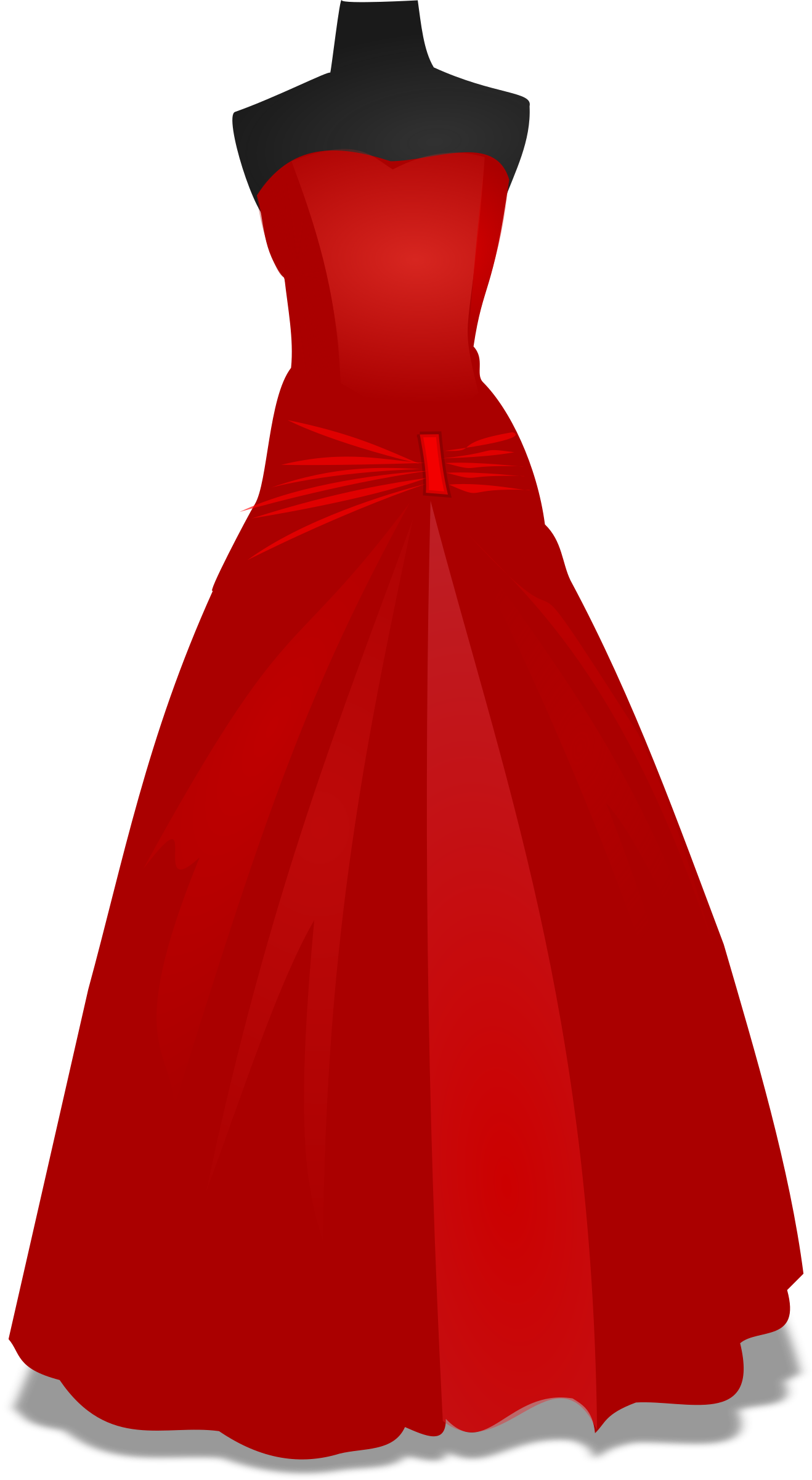 Dress clipart sleeveless dress. Gown