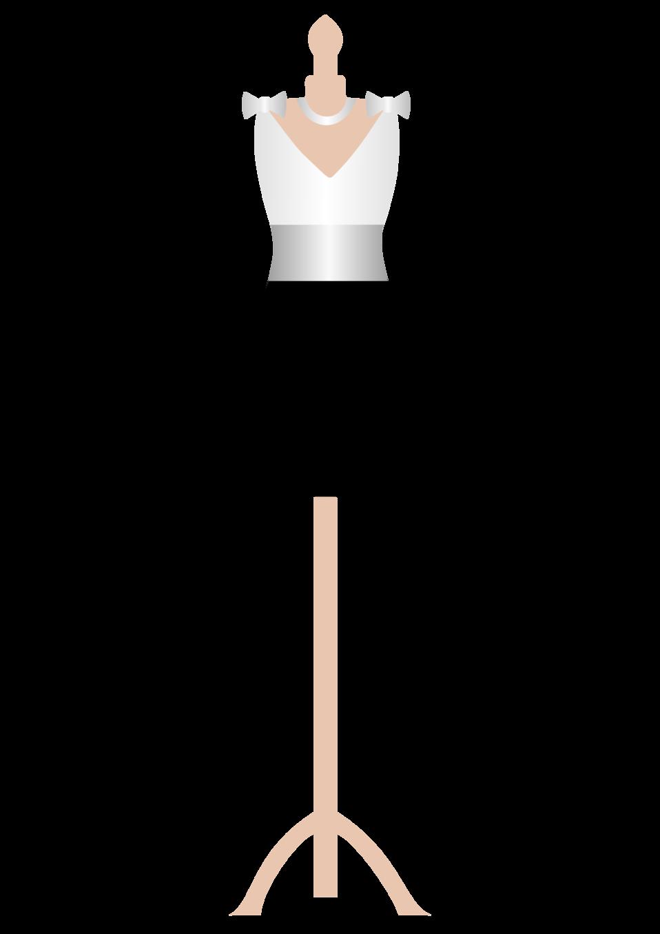 Public domain clip art. Clothing clipart mannequin