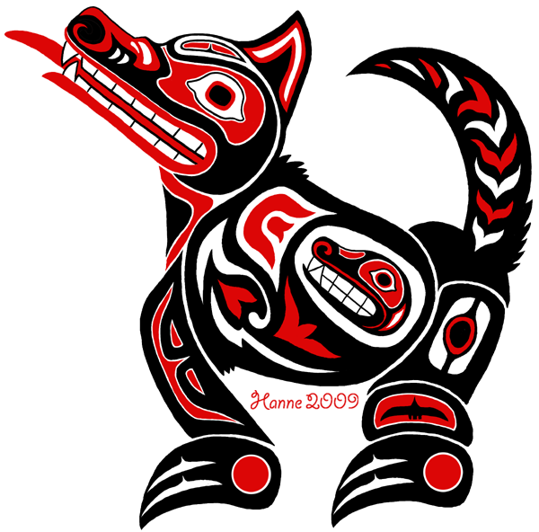 To all things native. Salmon clipart aboriginal symbol