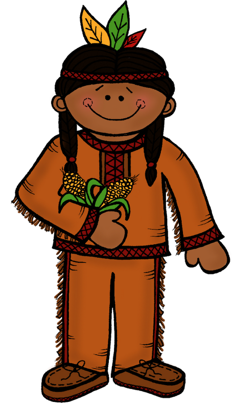 Kids clipart thanksgiving.  collection of native