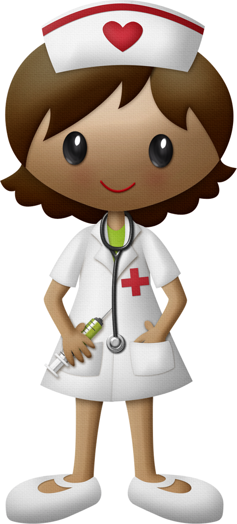 Nursing clipart nursing license. Enfermera dibujos infantiles pinterest