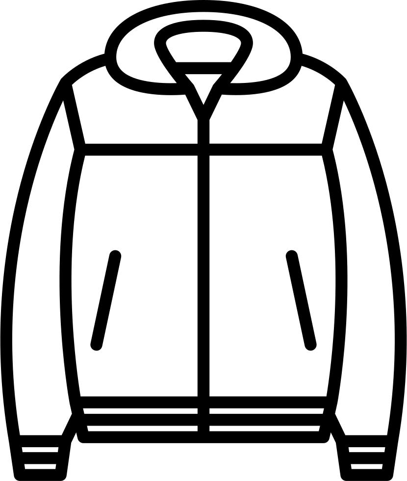 Nylon svg png icon. Jacket clipart non