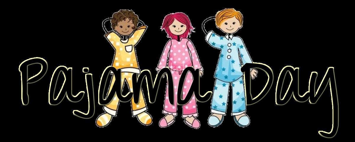 Pajamas clipart girl pajamas. Pajama day wed january